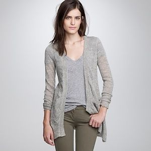 NWT J. Crew Dulphine Shimmer Cardigan